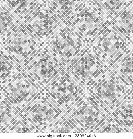 Geometrical Diagonal Square Mosaic Pattern Background - Vector Graphic Design