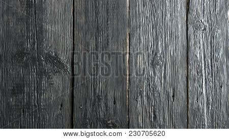 Wood Plank Wall Background For Design And Decoration