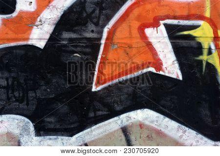 Abstract Art - Hand Painted Canvas  Morbid Motive,