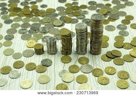 Gold Coins Nobody Number Objects Pattern Rate