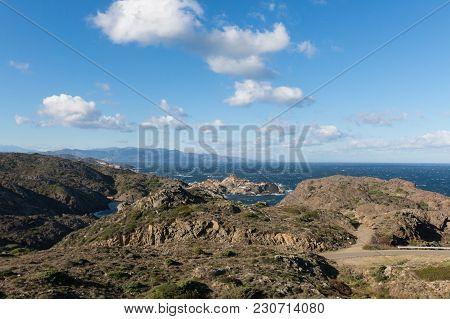 Cap De Creus Natural Park, The Westernmost Point Of Spain. Spain