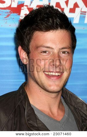 LOS ANGELES - SEP 1:  Cory Monteith arriving at the