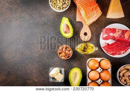 Ketogenic Low Carbs Diet Ingredients