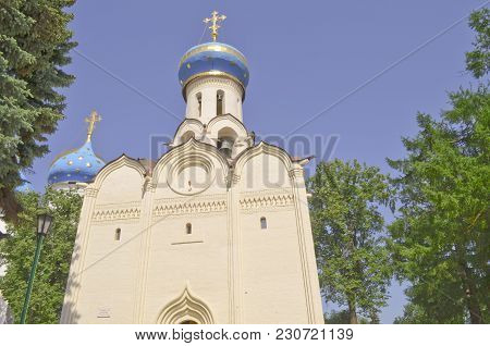 Russia, Sergiev Posad, The Church In Honour Of The Descent Of The Holy Spirit On The Apostles