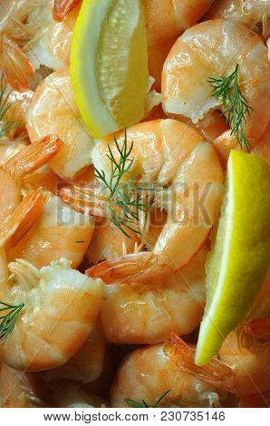 Boiled Shrimps.