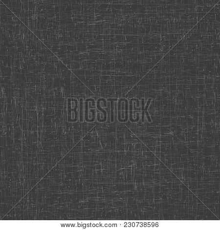 Seamless Gray Background. Grunge Texture, Seamless Pattern. Abstract Vector Scratched Surface. Layer