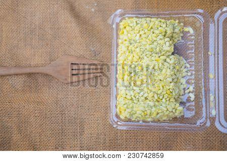 Mock Bean Pods, Thai Sweetmeat Foods In Box