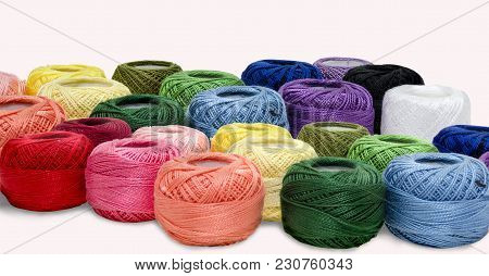 Silk Thread Is Available In Various Colors, Available In Handicrafts Or Decorative Items Or Fabrics.