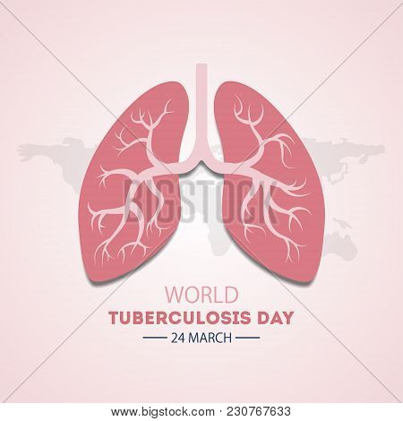 World Tuberculosis Day. Event For Illness Awareness.