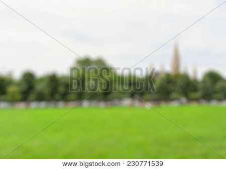 Abstract park outdoor background