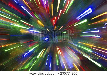 Christmas Abstract Background. Colorful Background. New Year