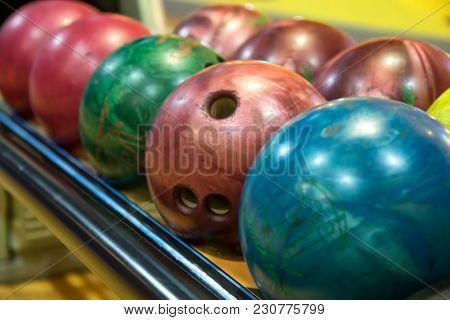 Bowling Balls. Bowling Alley. Game Time. Bowling
