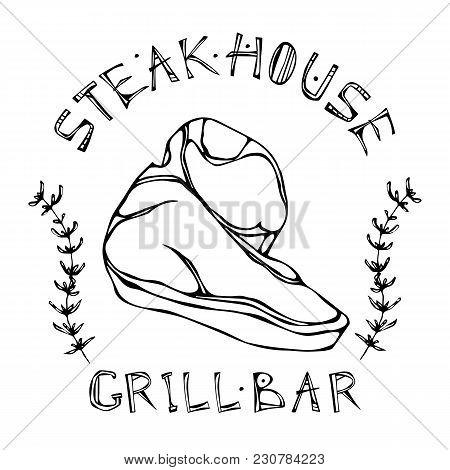 Porterhouse Steak Vector Photo Free Trial