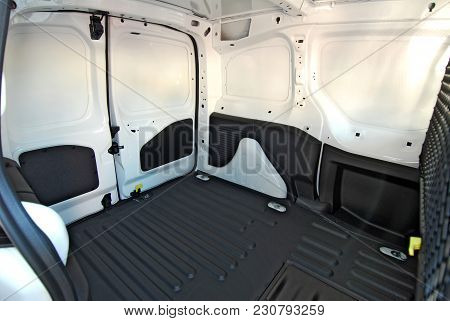 Cargo Area Of A Small Delivery Van