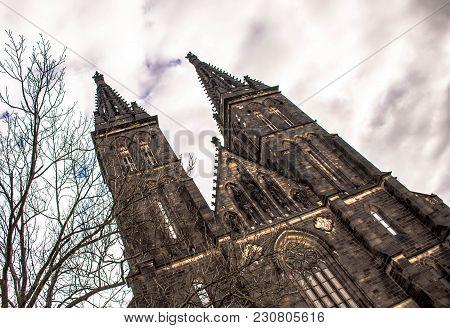Basilica Of St. Peter And St. Paul Church, Prague, Czech Republic