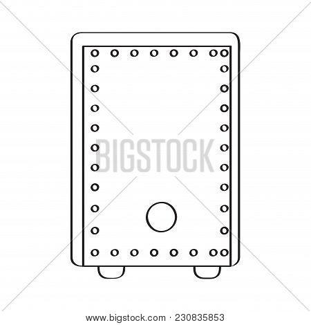 Peruvian Box Icon. Musical Instrument. Vector Illustration Design