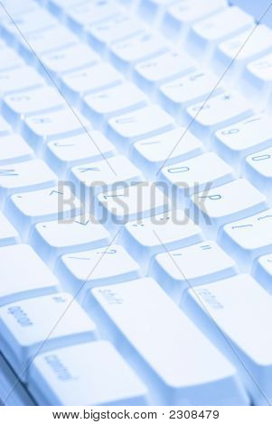 Close Up Keyboard