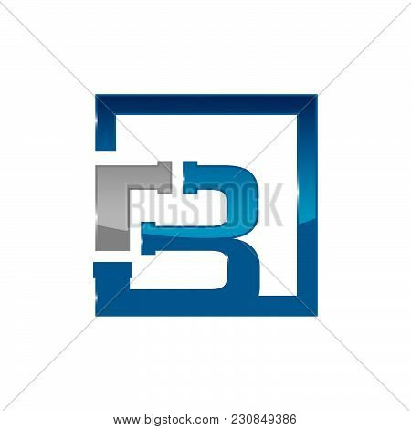 Letter B Plumbing Company Logo Vector Concept. Simple And Stylish Logotype.