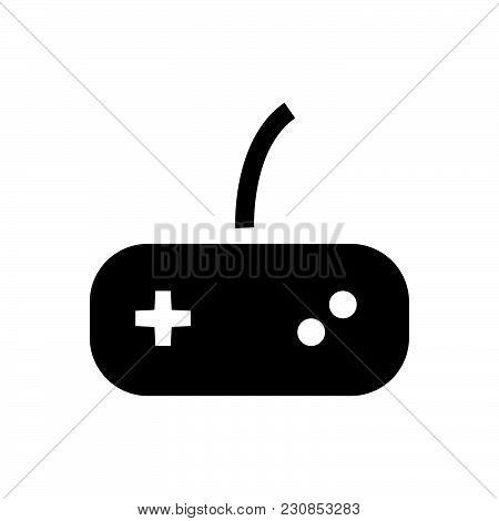 Joystick Vector Icon On White Background. Joystick Modern Icon For Graphic And Web Design. Joystick