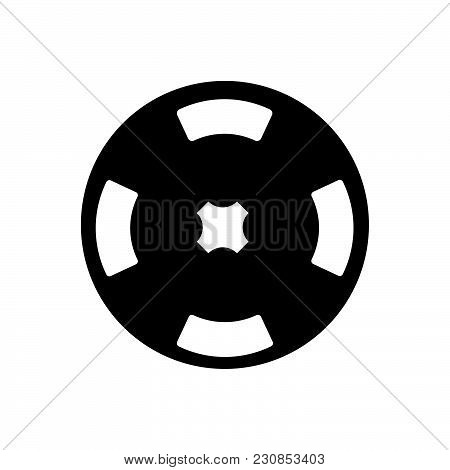 Poker Chips Vector Icon On White Background. Poker Chips Modern Icon For Graphic And Web Design. Pok