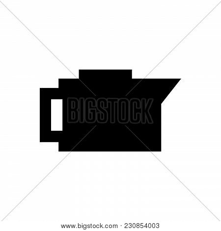 Coffee Pot Vector Icon On White Background. Coffee Pot Modern Icon For Graphic And Web Design. Coffe