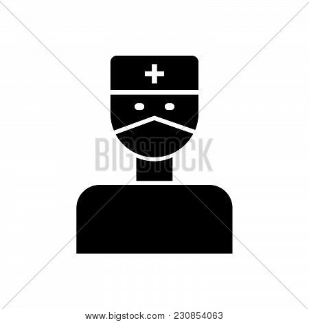 Doctor Vector Icon On White Background. Doctor Modern Icon For Graphic And Web Design. Doctor Icon S