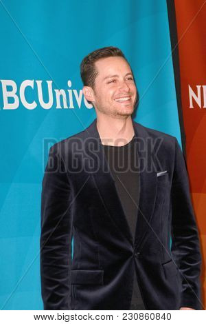 Jesse Lee Soffer arrives at the 2018 NBCUniversal Winter Press Tour at The Langham Huntington Hotel in Pasadena, California on January 9, 2018.