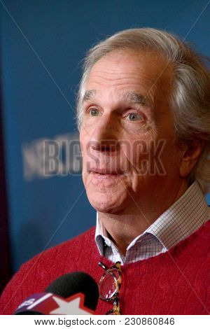 Henry Winkler arrives at the 2018 NBCUniversal Winter Press Tour at The Langham Huntington Hotel in Pasadena, California on January 9, 2018.