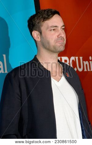 Jeff Dye arrives at the 2018 NBCUniversal Winter Press Tour at The Langham Huntington Hotel in Pasadena, California on January 9, 2018.