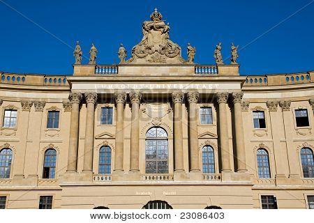 Alte Bibliothek v Berlíně