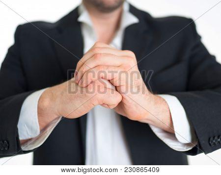 Kung Fu Businessman's Fists