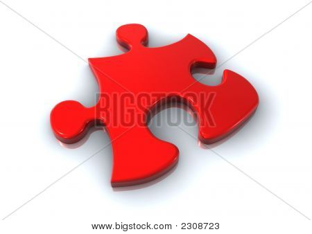 Puzzle Element Red