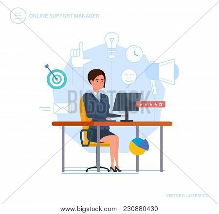 Online Support Manager. Call Center, Consultation, Communication, Client Service, Problem Solving, T