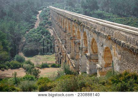 The Ferreres Aqueduct Perspective View