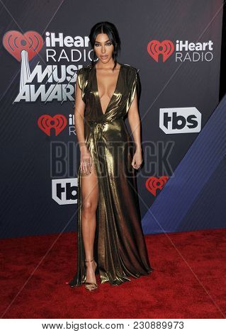 Chantel Jeffries at the 2018 iHeartRadio Music Awards held at the Forum in Inglewood, USA on March 11, 2018.