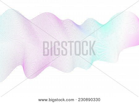 Abstract Wave Pattern Vector Photo Free Trial Bigstock