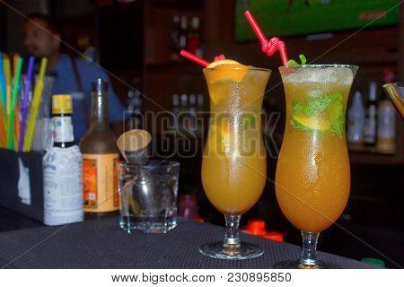 Orange Mocktail Recipe Uses Basil, Oregano, Ginger, Pune India