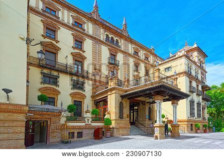 Hotel Alfonso Xiii Remains An Iconic Cultural Landmark In Sevill