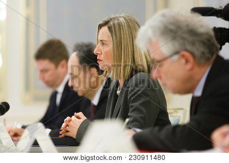 Federica Mogherini In Ukraine
