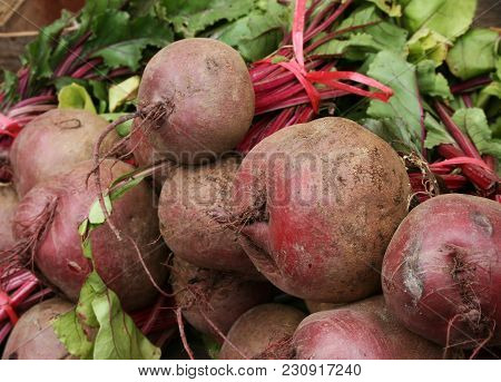 Raw Beet For Sale In The Market