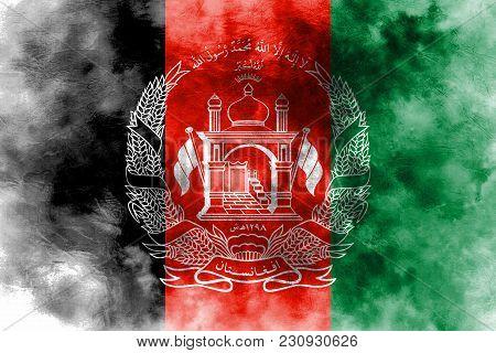 Old Afghanistan Grunge Background Flag, Afghanistan Flag