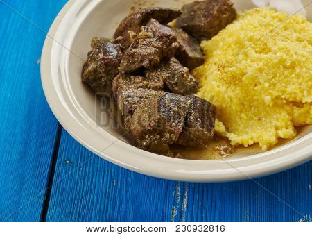 Romanian Pork Liver Stew