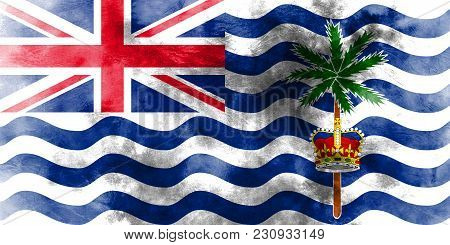 British Indian Ocean Territory Grunge Flag, British Overseas Territories, Britain Dependent Territor
