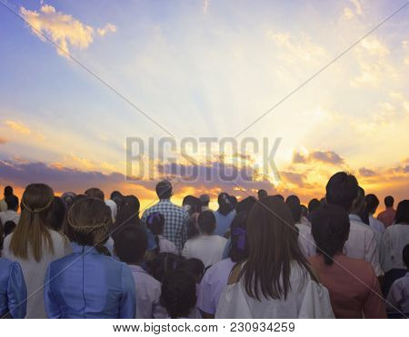 Cross, Easter, Sunday, Family, Jesus, Background, Church, Christian, Praying, Sunrise, Christ, Frida