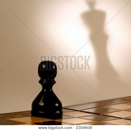 A Real Shadow Of A Pawn