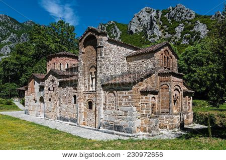 The Historical Stone Church Of Panagia At The Pyli Village In Thessaly, Greece