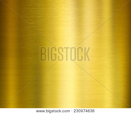 gold metal brushed texture