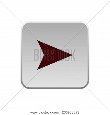Right Arrow Icon Eps 12, Vector Easy To Edit