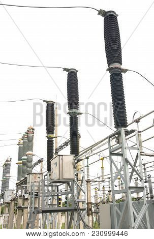 Gas-insulated Switches 110 Kw Electrical High Voltage Substation