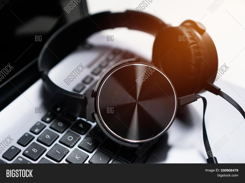 Headset Headphone On Image Photo Free Trial Bigstock